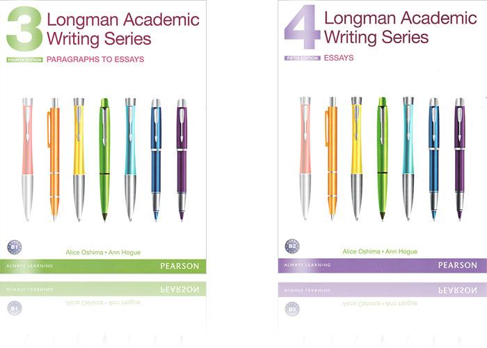 基礎課程 書籍推薦 - 寫作:Longman Academic Writing Series