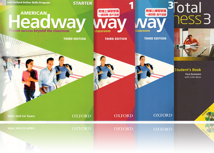 英文會話練習 教材推薦-American Headway