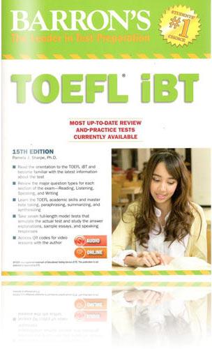 托福書籍推薦 - Barron's TOEFL iBT